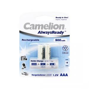 Батарейка аккумуляторная CAMELION AAA NH-AAA900ARBP2 Always Ready Rechargeable 12V 2шт
