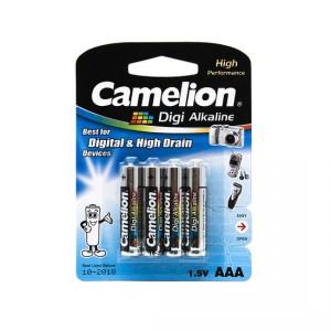 Батарейка CAMELION AAA LR03 LR03-BP4DG Digi Alkaline 15V 4шт