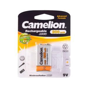 Батарейка аккумуляторная CAMELION 6F22 NH-9V200BP1 Rechargeable  9V 1шт