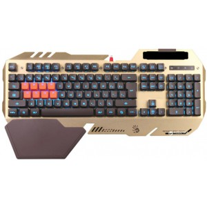 Клавиатура A4tech Bloody B418 Golden, USB Fast Gaming Keyboard