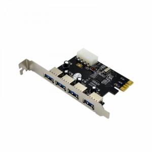 Контроллер PCI-Ex1> 4xUSB 3.0, VLI VL805-Q6
