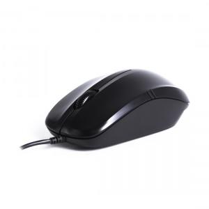 Мышь Delux DLM-136OUB Black