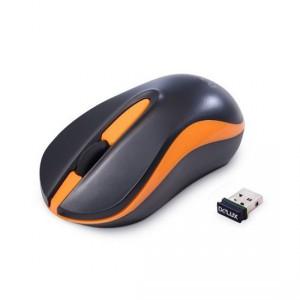 Мышь беспроводная Delux DLM-137OGB Black