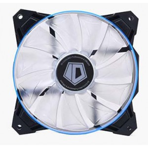 Вентилятор для корпуса ID-Cooling SF-12025-B (120x120x25mm, 800~2000±10% rpm, 14-35.5 dBi, 4pin, LED, Blue)