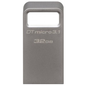 USB Flash drive 32Gb Kingston DataTraveler Micro 31 DTMC3/32Gb Silver USB31