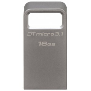 USB Flash drive 16Gb Kingston DataTraveler Micro 31 DTMC3/16Gb Silver USB31