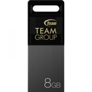 USB Flash drive 8Gb Team Group M151 TM1518GC01 Black/Grey USB20 microUSB