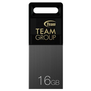 USB Flash drive 16Gb Team Group M151 TM15116GC01 Black/Grey USB20 microUSB