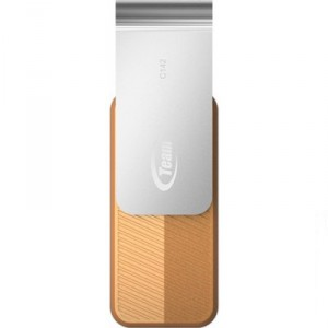 USB Flash drive 64Gb Team Group C142 TC14264GN01 Brown/Silver USB20