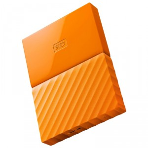 Внешний HDD 2Tb WD WDBLHR0020BOR-EEUE, Orange