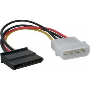 Адаптер Molex -> 1 x SATA iPower iPSMtS