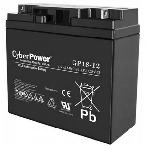 Батарея CyberPower GP18-12 12V/18Ah 181х78х167 мм