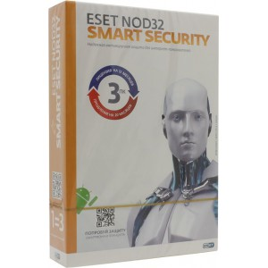 Антивирус ESET NOD32 Smart Security (3 ПК на 1 год) NOD32-ESS-1220(BOX)-1-1