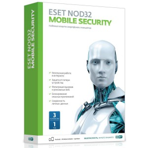 Антивирус ESET NOD32 Mobile Security NOD32-ENM2-NS(BOX)-1-1