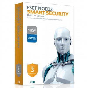 Антивирус ESET NOD32 Smart Security Family Platinum Edition NOD32-ESM-NS(BOX)-2-3