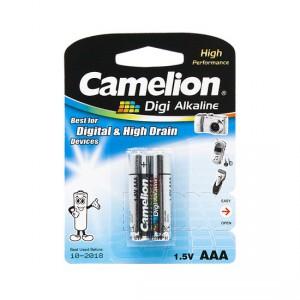 Батарейка CAMELION AAA LR03 LR03-BP2DG Digi Alkaline 15V 2шт