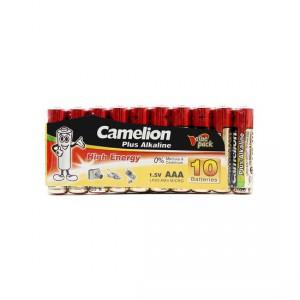 Батарейка CAMELION AAA LR03 LR03-SP10-DA Plus Alkaline 15V 10шт