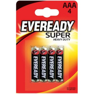 Батарейка EVEREADY AAA LR03 E301156100 Super Heavy Duty 15V 4шт