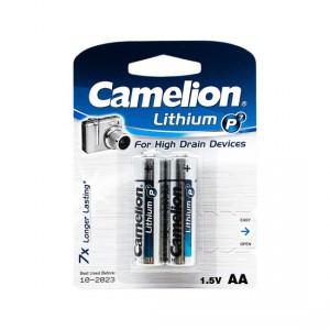 Батарейка CAMELION AA FR6 FR6-BP2 Lithium P7 15V 2шт