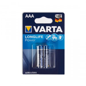 Батарейка VARTA AAA LR03 Longlife Power 4903-2 15V 2шт