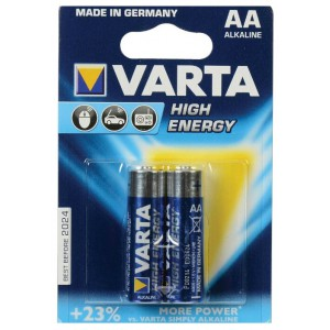 Батарейка VARTA AA LR6 High Energy 4906-2 15V 2шт