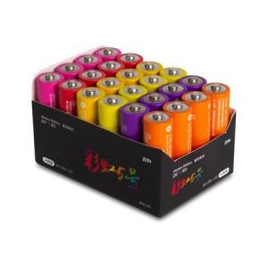 Батарейка Xiaomi AA LR6 Rainbow 5 ZMI AA524 15V 24шт