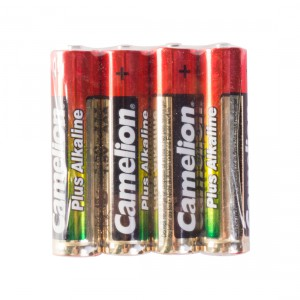 Батарейка CAMELION AAA LR03 LR03-SP4 Plus Alkaline 15V 4шт