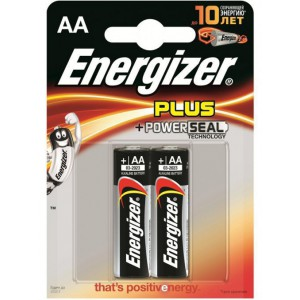 Батарейка Energizer AA LR6 300133001 PLUS POWER 15V 2шт