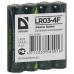 Батарейка Defender AAA LR03 LR03-4F Alkaline 15V 4шт