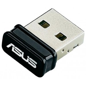 Wireless adapter ASUS USB-N10 Nano (USB 80211n 150 Мбит/с)