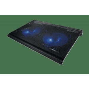 Охлаждающая подставка для ноутбука Trust Azul Black