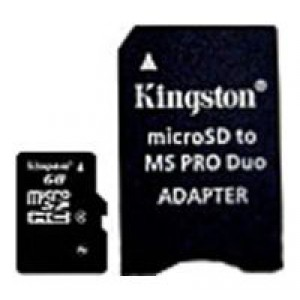 Карта памяти microSD 8Gb Kingston Class 4 SDCHC SDC4/8GB