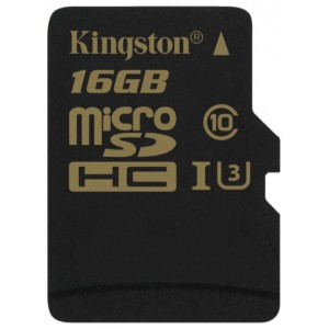 Карта памяти microSD 16Gb Kingston class10 SDCG/16GBSP