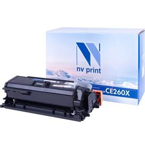 Картридж NVP CE260X Black