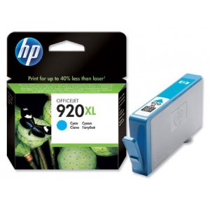 Картридж HP 920XL CD972AE Cyan