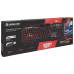 Клавиатура Defender Doom Keeper GK-100DL RGB USB