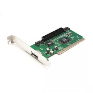 Контроллер Deluxe DLC-SI PCI to SATA & IDE 3 порта SATA & 1 порт IDE