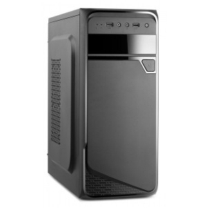 Корпус Wintek K1008-A400-8F 400W Black ATX