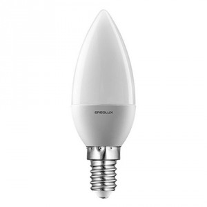 LED лампочка Ergolux LED-C35-7W-E14-4K