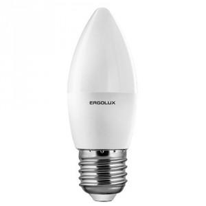 LED лампочка Ergolux LED-C35-7W-E27-6K
