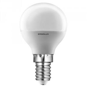 LED лампочка Ergolux LED-G45-7W-E14-4K