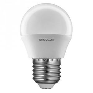 LED лампочка Ergolux LED-G45-7W-E27-4K