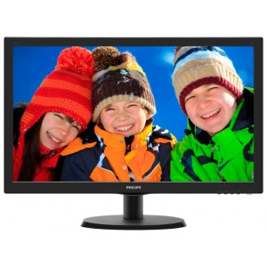 Монитор 215 PHILIPS 223V5LSB/01 Black