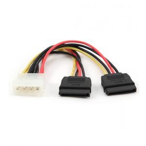 Переходник Molex -> 2 x SATA Cablexpert CC-SATA-PSY