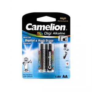 Батарейка CAMELION AA LR6 LR6-BP2DG Digi Alkaline 15V 2шт