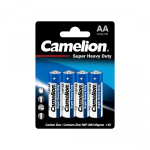 Батарейка CAMELION AA R6P R6P-BP4B Super Heavy Duty 15V 4шт
