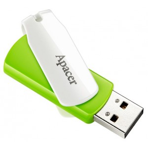 USB Flash drive 64Gb Apacer AH335 AP64GAH335G-1 USB20 Green