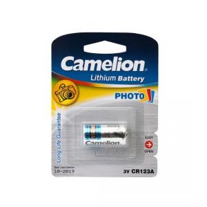 Батарейка CAMELION CR123A CR123A-BP1 Lithium  3V 1шт