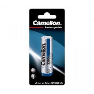 Аккумулятор CAMELION 18650 ICR18650-BP1 Lithium Rechargeable 37V 1 шт