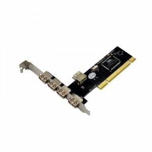 Контроллер PCI > USB 20 4+1 порт VIA VT6212L